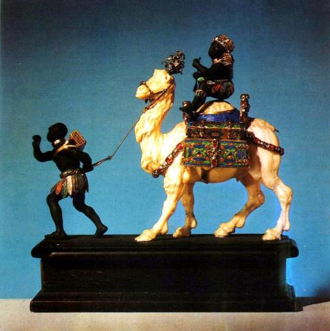 Два мавра с верблюдом