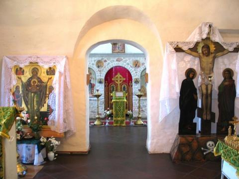 Интерьер Стефановской церкви