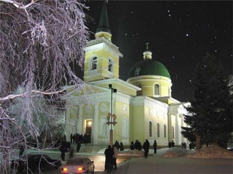 Омский Никольский Собор