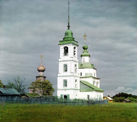 Церковь Пресвятой Богородицы. Белозерск. 1909 г.