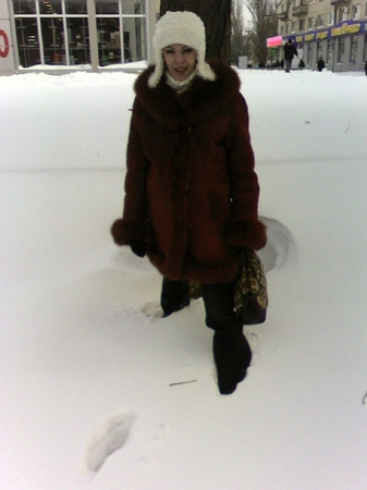 Шаг за шагом, да по снегу