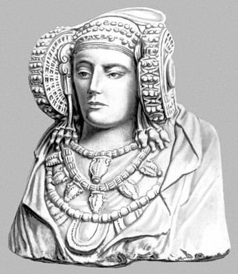 «Дама из Эльче». Известняк. 5 в. до н. э. Прадо. Мадрид.