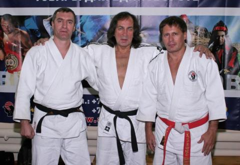 Сосновский В.Л.(слева) и Иншаков А.И. (в центре) на кинофестивале