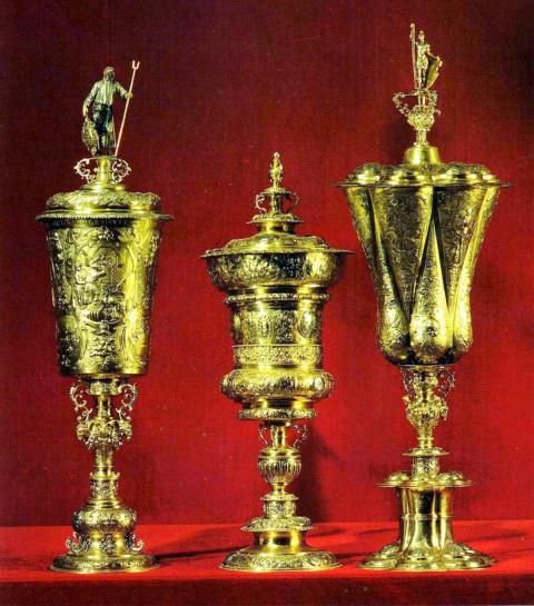 Три саксонских кубка