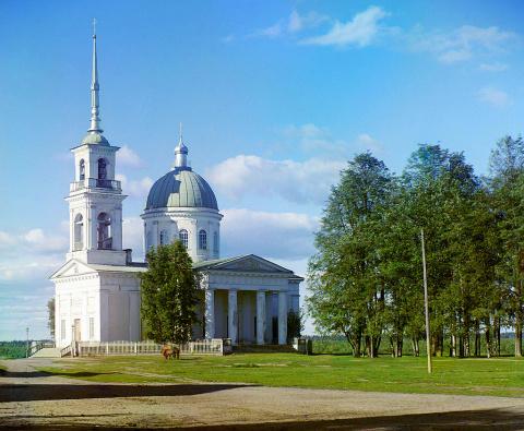 Собор во имя Св.Ап.Петра и Павла в г. Лодейное поле, 1911 г.