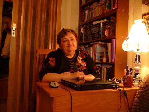 Людмила Кантемирова (Егорова)