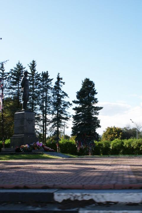 Памятник Зое
