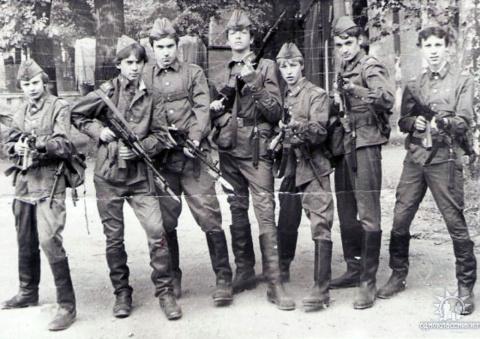 Ребята с нашего полка