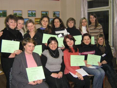 """Первый модуль курса """"Семейное консультирование"""", февраль 2010"""