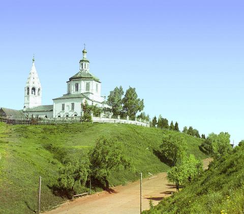 Церковь Св. Николая Чудотворца. Тобольск. 1912 г.