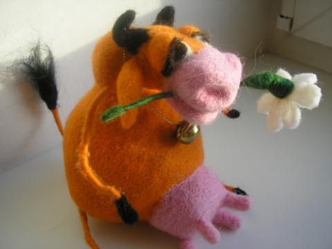 Романтичная корова