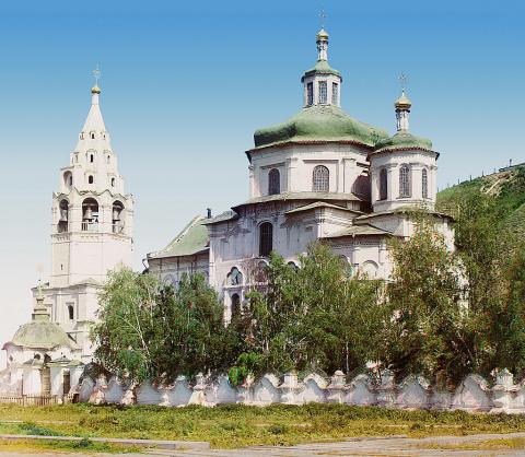Тобольск. Церковь Пресвятой Богородицы. 1912 год.