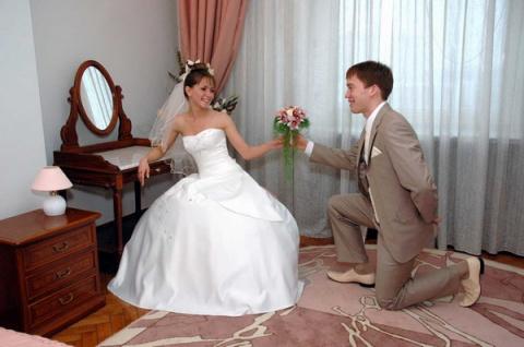 Выкуп невесты.