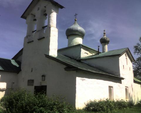 храм Спаса Нерукотворенного в Пскове