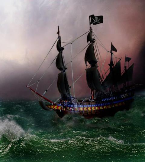Пиратский корабль картинки - 22b05