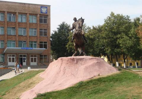Памятник Е.Коловрату