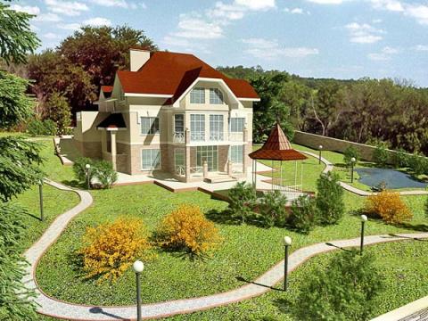 Визуализация 1: Мой будущий дом