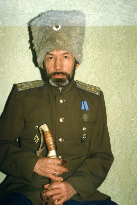 Кустов М.В. Атаман Курганского округа ОВКО 1995-1996гг.