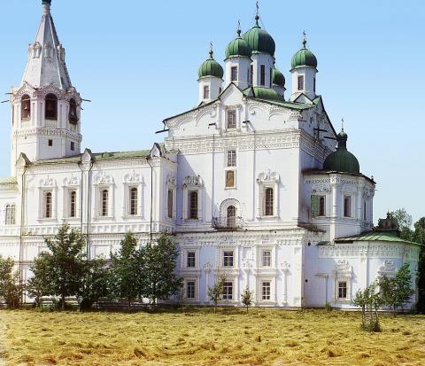Успенский Собор в Далматском монастыре. 1912 г.