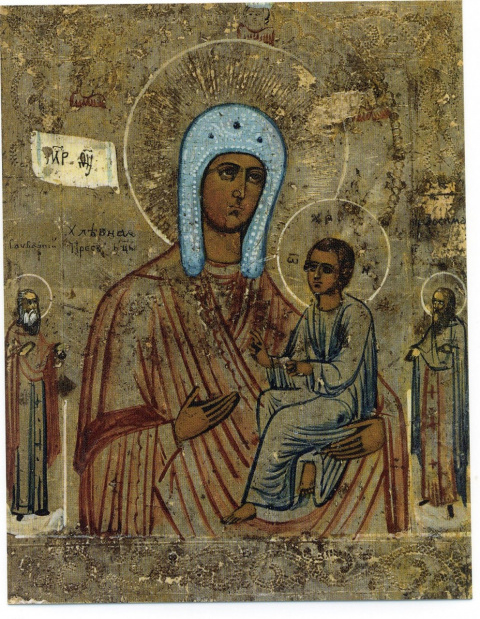 икона божьей матери хлебная: