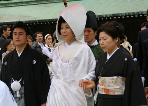 Японская свадьба.