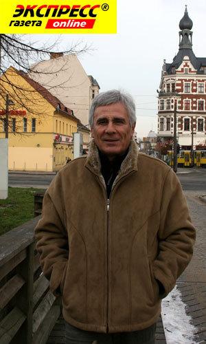Гойко Митич осенью в Берлине