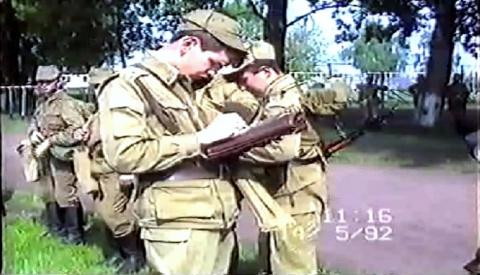 гвардии ст.лейтенант Давыденков