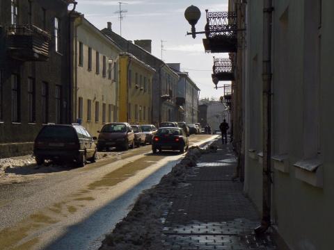 Старые улочки центра