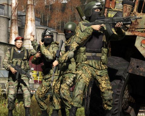 Arma 2 русский спецназ | One Gamer