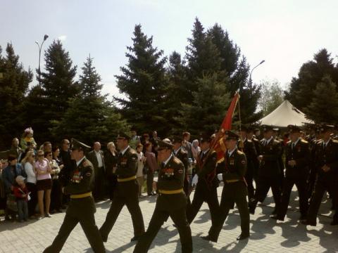 Волжский. 9 мая