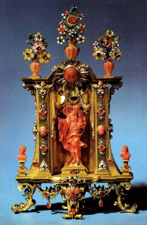 Малый алтарь со святым Иосифом