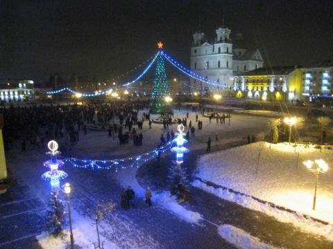 Новогодняя ночь 2010г