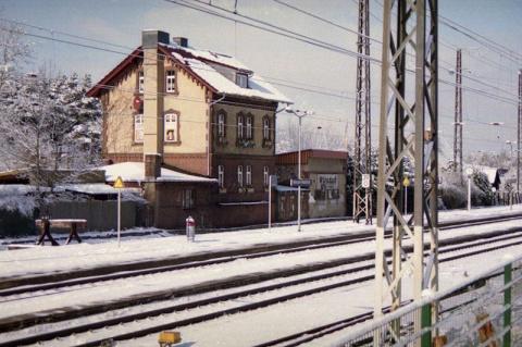 Станция Вюнсдорф.(штаб ЗГВ)