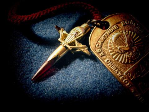 Десантный крест и жетон