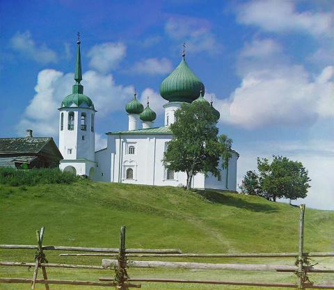 Церковь Иоанна Предтечи. Старая Ладога. 1909 г.