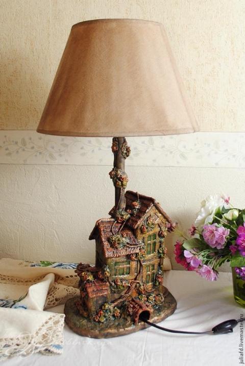 Оригинальная лампа из подруч…