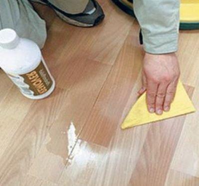 Как убрать царапины на паркете в домашних условиях