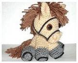 Маленькая забавная лошадка