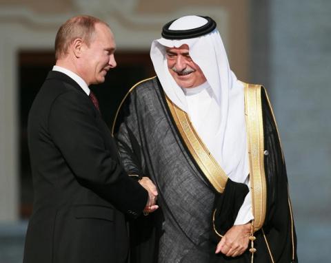 Нефтяные войны: Россия и сау…