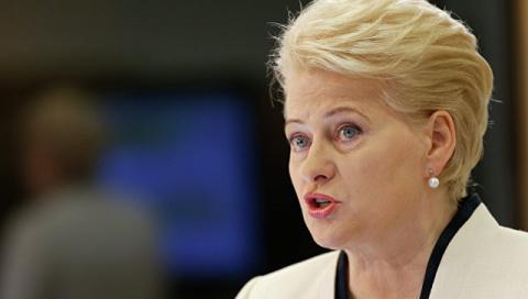 Президент Литвы считает Россию угрозой для Европы