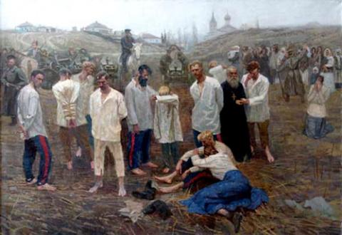 24 января - начало расказачивания и геноцида казаков