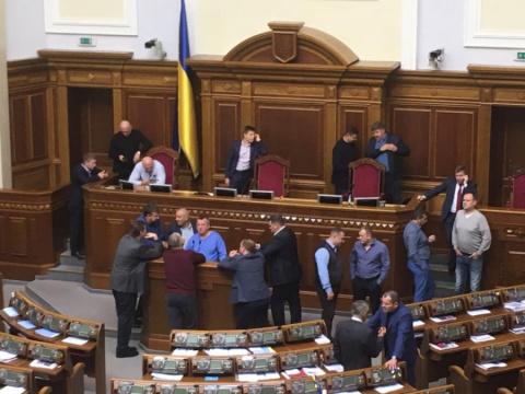 Украинская рада приняла меди…