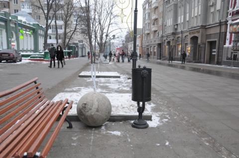 Бетонные шары терроризируют Саратов