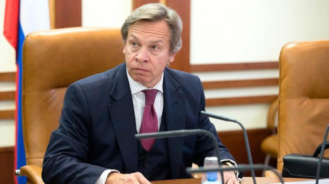 Пушков дал оценку отказу США и Украины поддержать план РФ по миротворцам в Донбассе