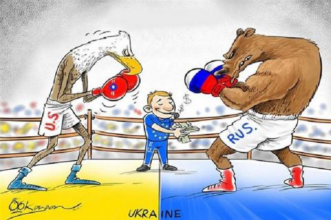 Торги за Украину — ставок больше нет. Юлия Витязева