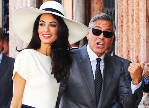 Супруга Джорджа Клуни береме…