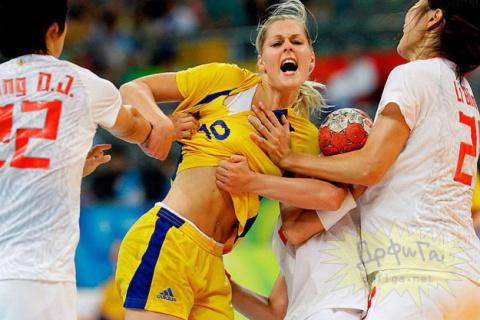Курьезные фото из мира спорта