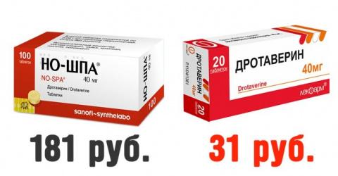 """""""Дешевые аналоги дорогих лекарств"""" (2016) или """"Заплати за красивую упаковку"""""""