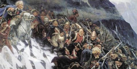 В 1799 году Суворов перешел …
