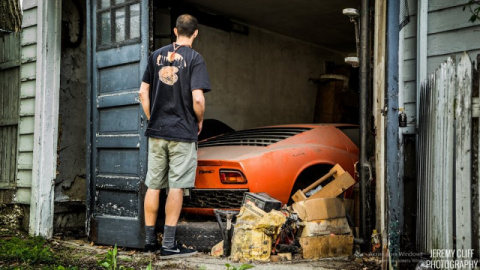 Lamborghini Miura - семейная реликвия провела 28 лет в сарае